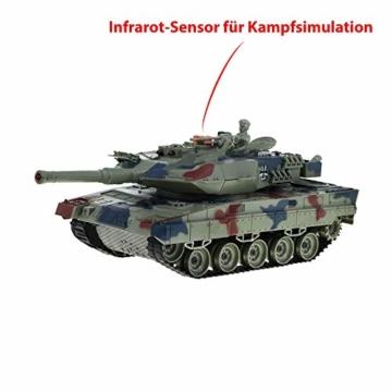 Deutscher Leopard Kampfpanzer ferngesteuert