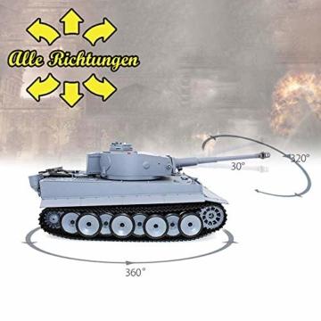 Deutscher Tiger Panzer ferngesteuert