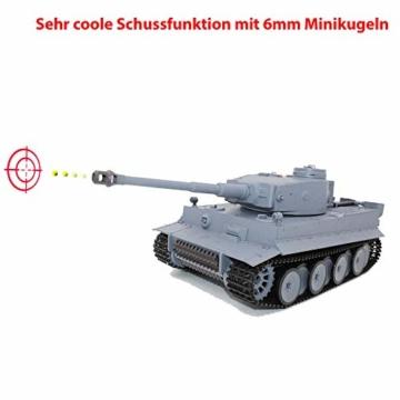 Deutscher Tiger Panzer mit schussfunktion