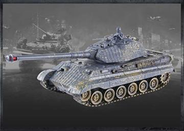 s-idee-01661-battle-panzer-128-mit-integriertem-infrarot-kampfsystem-2-4-ghz-rc-r-c-ferngesteuert-tank-kettenfahrzeug-ir-schussfunktion-sound-licht-neu-124-schuss-sound-beleuchtung-2