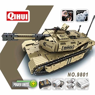 QIHUI Panzer lego alternative