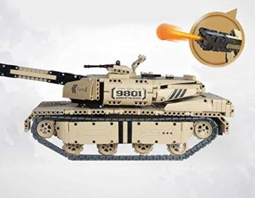 QIHUI Panzer mit Schussfunktion